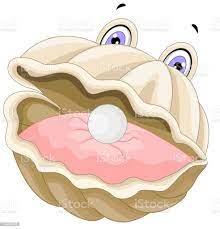 image huître avec perle