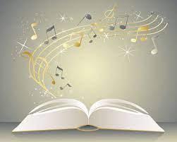livre et musique qui s'en échappe
